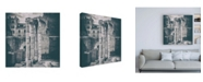 "Trademark Global Philippe Hugonnard Dolce Vita Rome 3 Rome Columns VII Canvas Art - 15.5"" x 21"""