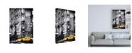 "Trademark Global Philippe Hugonnard Yellow Taxi Canvas Art - 27"" x 33.5"""