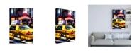"Trademark Global Philippe Hugonnard NY Taxi Canvas Art - 19.5"" x 26"""