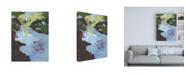 """Trademark Global Jennifer Paxton Parker Sherbet Plains II Canvas Art - 15.5"""" x 21"""""""