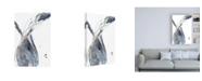 "Trademark Global Jennifer Goldberger Paynes Twist II Canvas Art - 15.5"" x 21"""