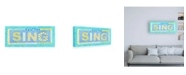 "Trademark Global Megan Meagher Sing Canvas Art - 27"" x 33.5"""