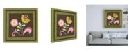 "Trademark Global June Erica Vess Patchwork Garden I Canvas Art - 15.5"" x 21"""