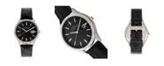 Elevon Men's Concorde Genuine Leather Strap Watch 41mm