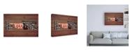 "Trademark Global Design Turnpike OK State Love Canvas Art - 36.5"" x 48"""