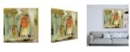 "Trademark Global Silvia Vassileva Kyoto Street Canvas Art - 15.5"" x 21"""