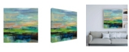 "Trademark Global Silvia Vassileva Delmar Sunset II Canvas Art - 15.5"" x 21"""