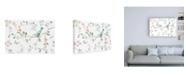 "Trademark Global Daphne Brissonnet Springtime I Canvas Art - 36.5"" x 48"""