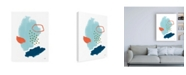 "Trademark Global Moira Hershey Eternal Optimist II Canvas Art - 15.5"" x 21"""