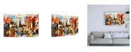 """Trademark Global Philippe Hugonnard NYC Watercolor Collection - Vision Canvas Art - 27"""" x 33.5"""""""