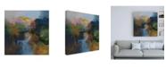 "Trademark Global Emilia Aran July Light Canvas Art - 15.5"" x 21"""