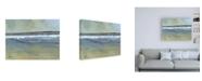 "Trademark Global Paul Baile Estuary Wave Canvas Art - 19.5"" x 26"""