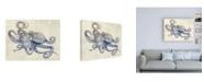 "Trademark Global Rachel Caldwel Octoflow Canvas Art - 36.5"" x 48"""