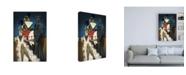 "Trademark Global Jaleel Campbel Harlem Nights Canvas Art - 15.5"" x 21"""