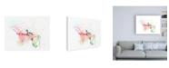 "Trademark Global Niya Christin Delicate Florals Canvas Art - 27"" x 33.5"""