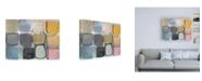 "Trademark Global Naomi Taitz Duff Paper Abstract 2 Canvas Art - 27"" x 33.5"""
