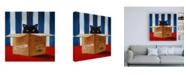 "Trademark Global Lucia Hefferna Cat Burglar Canvas Art - 15.5"" x 21"""