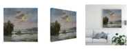 "Trademark Global Chuck Larivey James River from Belle Isle II Canvas Art - 15"" x 20"""