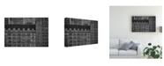 "Trademark Global Roxana Labagnara Fifth Avenue Gray Canvas Art - 20"" x 25"""