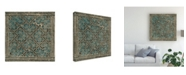 "Trademark Global Vision Studio Block Print Textile I Canvas Art - 27"" x 33"""
