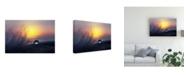 """Trademark Global Peep Loorits Morning Macro Canvas Art - 15"""" x 20"""""""