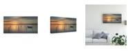 "Trademark Global Piet Haaksma Sleep Time During Sunset Canvas Art - 15"" x 20"""