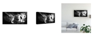 "Trademark Global Vladimir Konkin And We Sent Pigeons Earlier Canvas Art - 15"" x 20"""