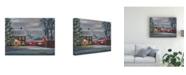 "Trademark Global Marnie Bourque Sterling Hill Twilight Canvas Art - 20"" x 25"""