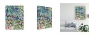 "Trademark Global Mark Lovejoy Abstract Splatters Lovejoy 25 Canvas Art - 37"" x 49"""