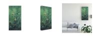 """Trademark Global Michael Budden Roadside Bouquet Canvas Art - 20"""" x 25"""""""