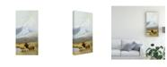 """Trademark Global Michael Budden Autumn Uprights, Elk Canvas Art - 15"""" x 20"""""""