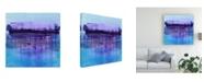 "Trademark Global Masters Fine Art Storm Blue Canvas Art - 20"" x 25"""