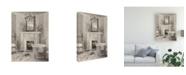"""Trademark Global Marilyn Hageman French Bath IV Gray Canvas Art - 20"""" x 25"""""""