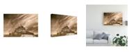 "Trademark Global Monte Nagler Mont St Michel Mont St Michel France Canvas Art - 20"" x 25"""