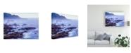 "Trademark Global Monte Nagler Surf and Foothills Big Sur California Canvas Art - 15"" x 20"""