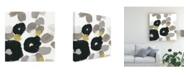 "Trademark Global June Erica Vess Kinetic Flora II Canvas Art - 15"" x 20"""