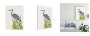 """Trademark Global Naomi Mccavitt Water Birds and Cattails II Canvas Art - 20"""" x 25"""""""
