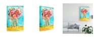"Trademark Global Julia Minasian Bright Arrangement II Canvas Art - 20"" x 25"""