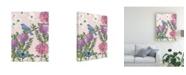 """Trademark Global Naomi Mccavitt Bird Garden IV Canvas Art - 20"""" x 25"""""""