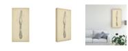 "Trademark Global Ethan Harper Ornate Cutlery III Canvas Art - 37"" x 49"""