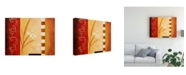 "Trademark Global Pablo Esteban White on Panels 1 Canvas Art - 36.5"" x 48"""