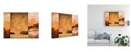 "Trademark Global Pablo Esteban Three Panel Landscape 2 Canvas Art - 19.5"" x 26"""