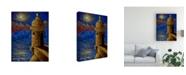 "Trademark Global Oscar Ortiz Fort Canvas Art - 27"" x 33.5"""