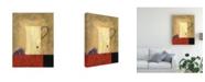 "Trademark Global Pablo Esteban White Jug Next to Fruit 2 Canvas Art - 19.5"" x 26"""