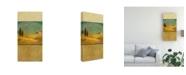 "Trademark Global Pablo Esteban Tuscan Landscape 3 Canvas Art - 15.5"" x 21"""