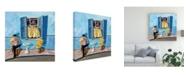 "Trademark Global Patricia A. Reed Window II Canvas Art - 15.5"" x 21"""