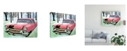 "Trademark Global Patrick Sullivan 57 Cadi Canvas Art - 27"" x 33.5"""