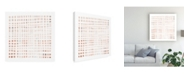 "Trademark Global Emma Scarvey Woven III Canvas Art - 36.5"" x 48"""