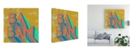 "Trademark Global Chariklia Zarris Shout I Canvas Art - 36.5"" x 48"""