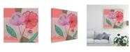 """Trademark Global Melissa Wang Dancing Bouquet I Canvas Art - 36.5"""" x 48"""""""
